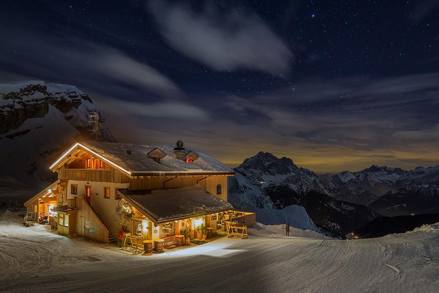 Rifugio Averau, metri 2416, Dolomiti