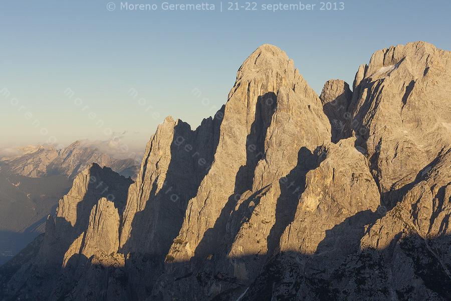 Monte Agner, gruppo Pale di San Martino, Agordino, Dolomiti