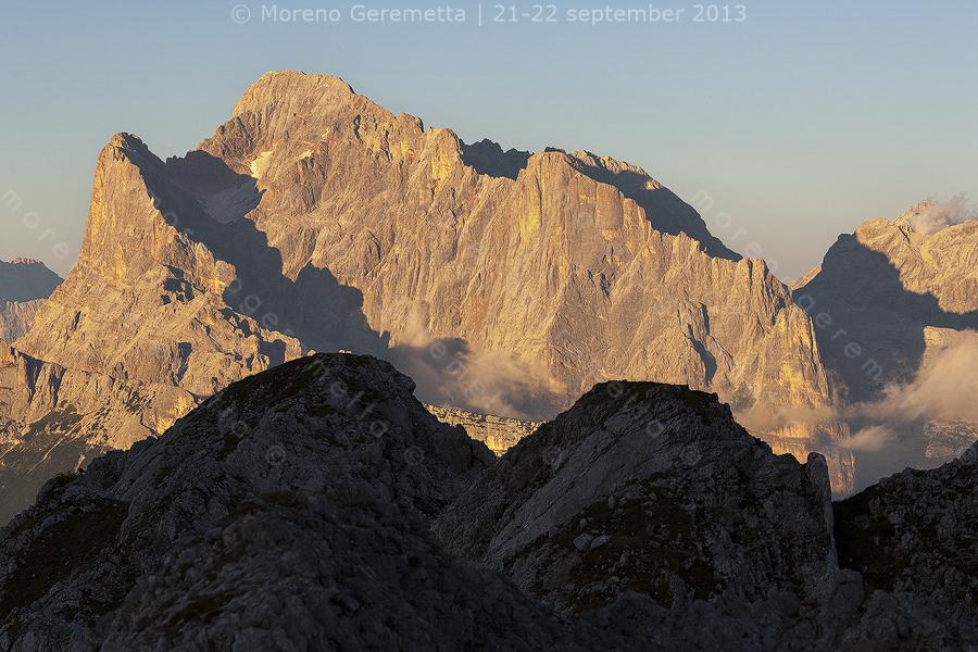Monte Civetta, parete sud
