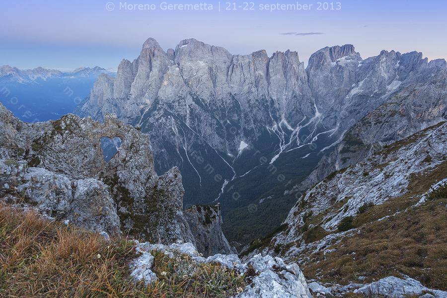 """Ora blu al """"Cor"""", Cuore di San Lucano, Dolomiti"""