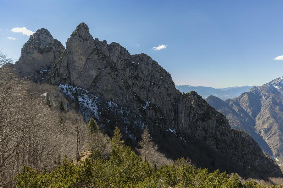 I Pizet versante nord