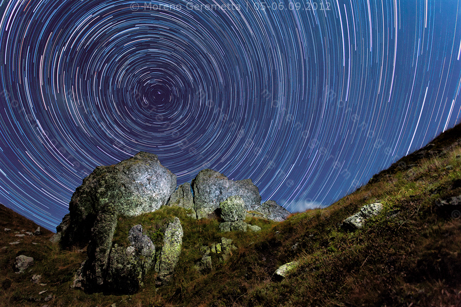 La scia delle stelle