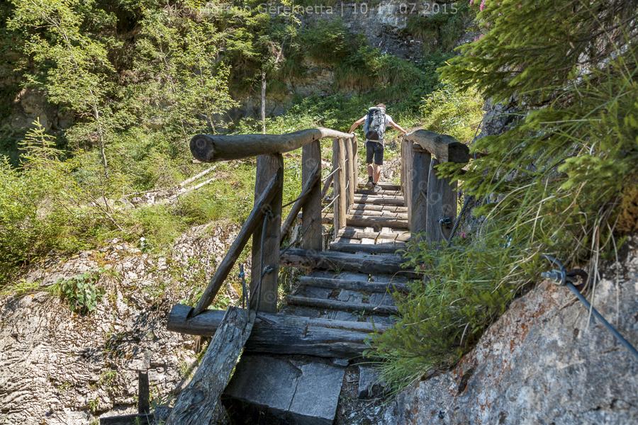 Il ponte di legno