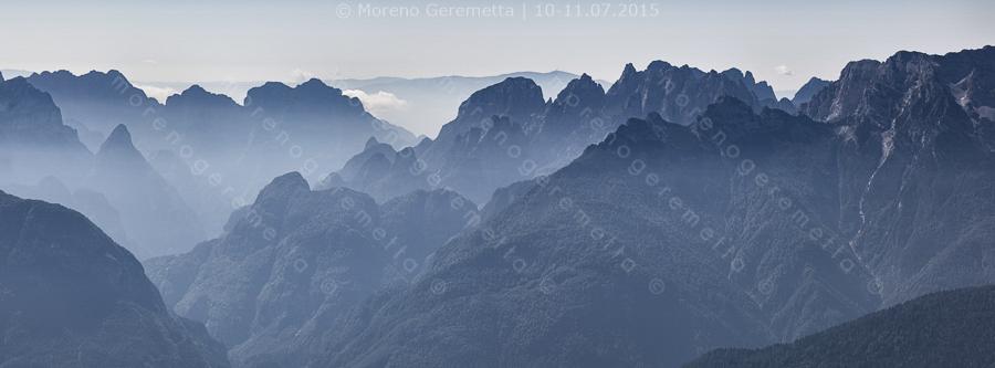 Dalla Schiara ai Monti del sole nel selvaggio blu