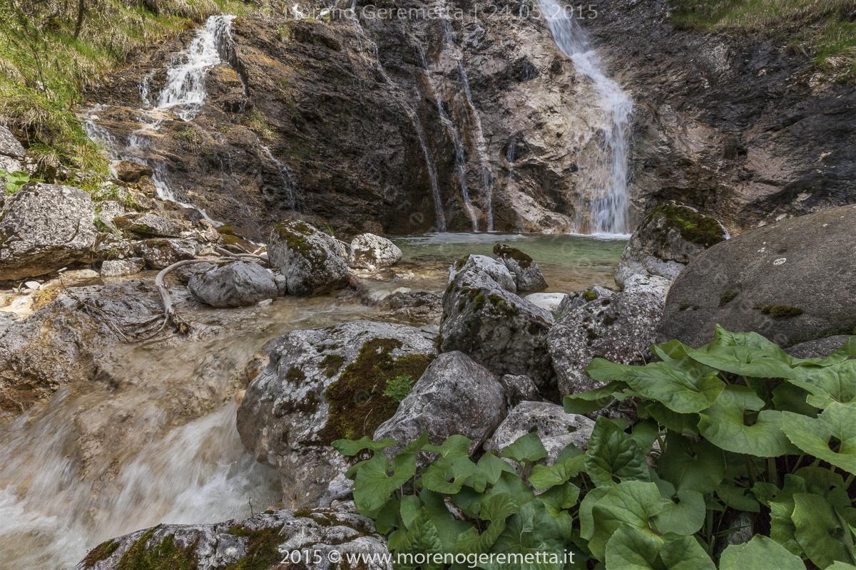 Acqua cristalline in Val Fresca