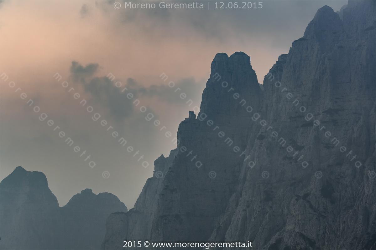Guglie dei Monti del Sole all'alba