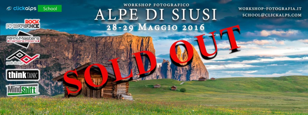 Workshop Alpe di Siusi
