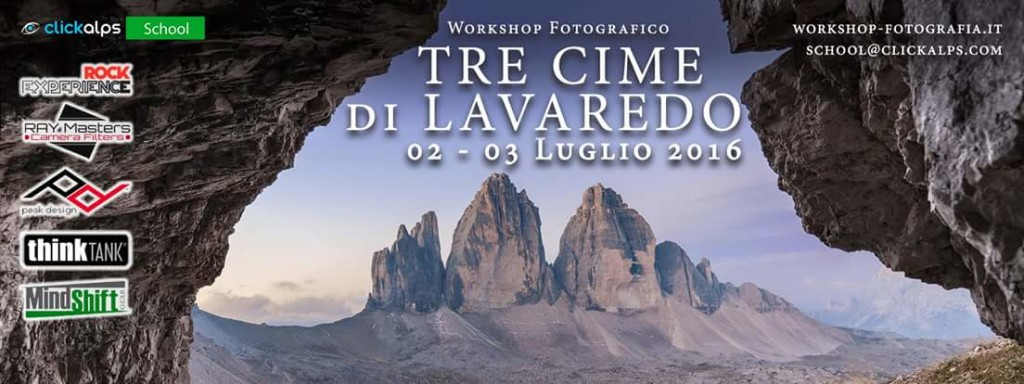 Workshop - Tre Cime di Lavaredo