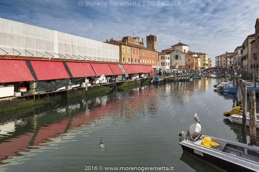 Chioggia - Il mercato del pesce al minuto