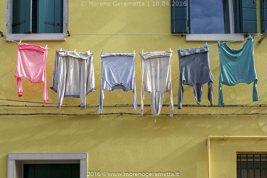 Chioggia - Panni stesi in un tocco di colore