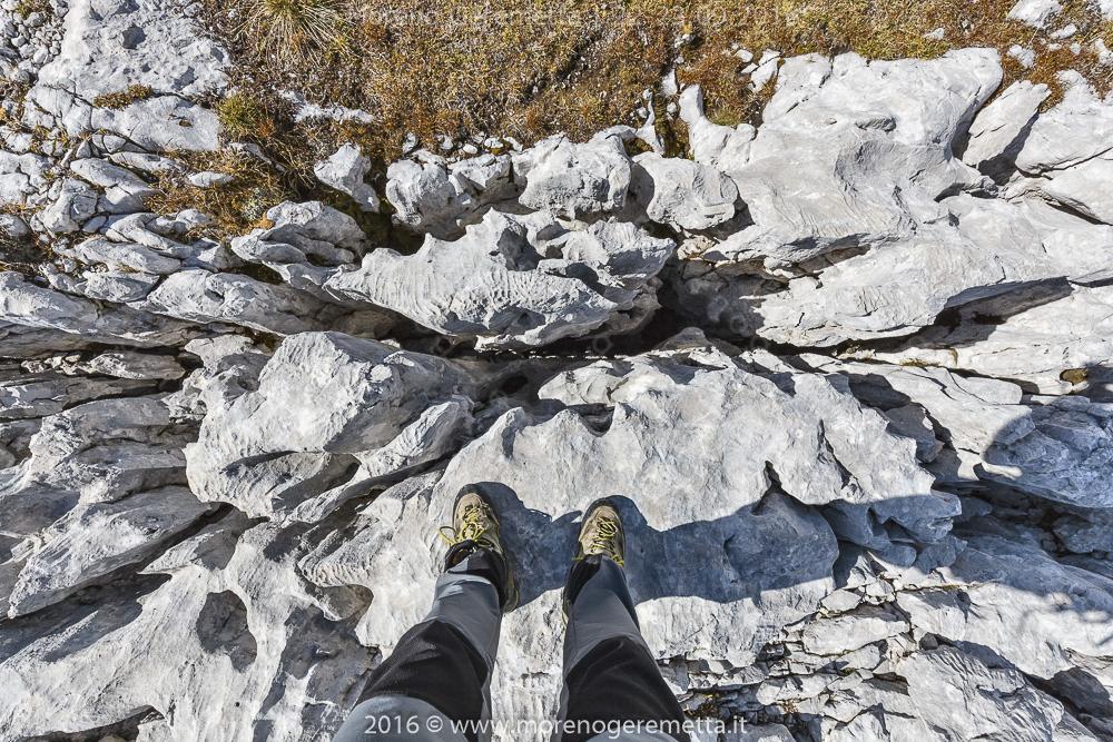 Incredibile varietà di forme sulle rocce | Marmarole