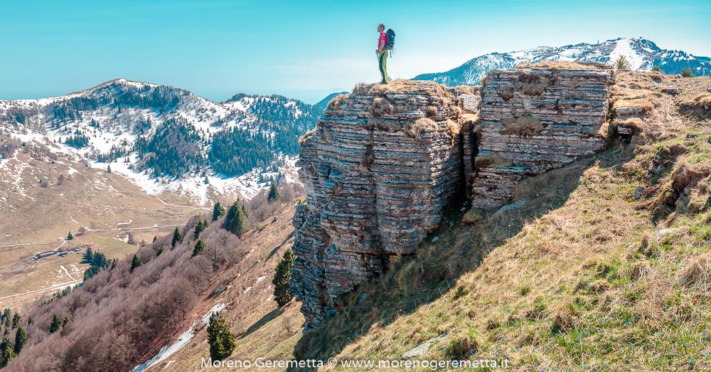 Alta via degli Eroi, cavalcando le Prealpi - Moreno