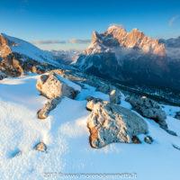 Mont alt de Pelsa e Civetta dalla Palazza Alta | Dolomiti