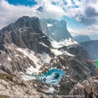 Al cospetto del Civetta da Cima Coldai - Dolomiti