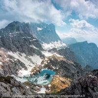 Nord ovest del Civetta da Cima Coldai - Dolomiti