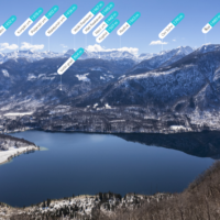 I nomi delle montagne | Peak Visor | Lago di Bohinj